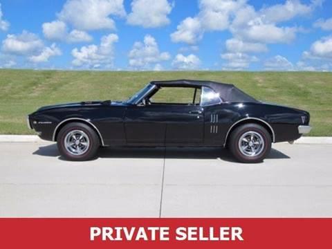 1968 Pontiac Firebird for sale in Senecaville, OH