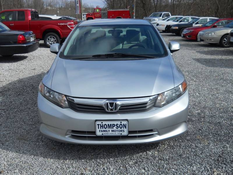 2012 Honda Civic Natural Gas 4dr Sedan In Senecaville OH