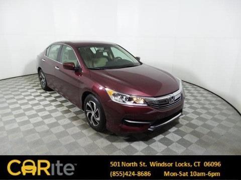 2017 Honda Accord for sale in Windsor Locks, CT
