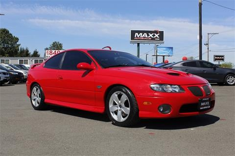 2006 Pontiac GTO for sale in Puyallup, WA