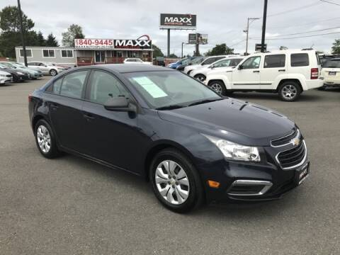 2016 Chevrolet Cruze Limited for sale at Maxx Autos Plus in Puyallup WA