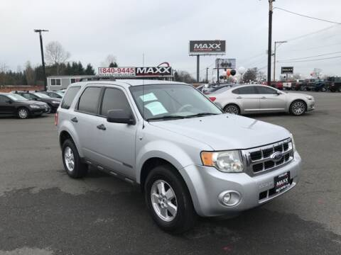 2008 Ford Escape for sale at Maxx Autos Plus in Puyallup WA