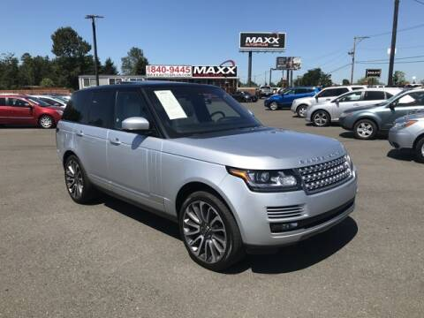 2016 Land Rover Range Rover for sale at Maxx Autos Plus in Puyallup WA