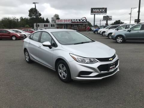 2017 Chevrolet Cruze for sale at Maxx Autos Plus in Puyallup WA