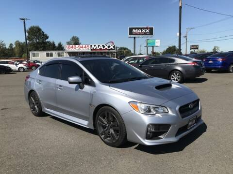 2016 Subaru WRX for sale at Maxx Autos Plus in Puyallup WA