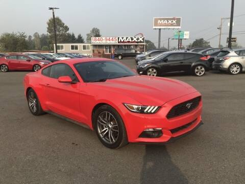 2016 Ford Mustang for sale at Maxx Autos Plus in Puyallup WA