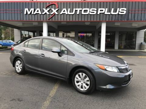 2012 Honda Civic for sale at Maxx Autos Plus in Puyallup WA