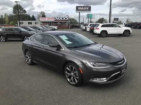 2015 Chrysler 200 for sale at Maxx Autos Plus in Puyallup WA