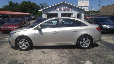 2015 Chevrolet Cruze for sale in Jefferson City, TN