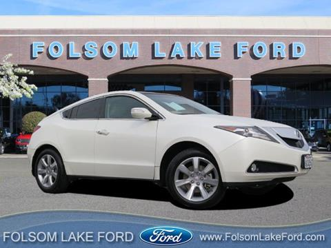 2010 Acura ZDX for sale in Folsom, CA