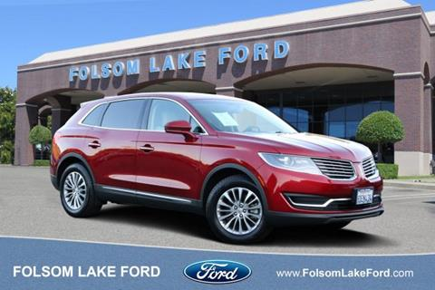 2018 Lincoln MKX for sale in Folsom, CA
