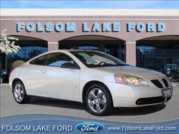 2009 Pontiac G6 for sale in Folsom, CA
