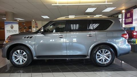 Used Infiniti Qx80 >> 2016 Infiniti Qx80 For Sale In Hamilton Oh