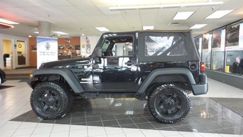 2012 Jeep Wrangler for sale in Hamilton, OH