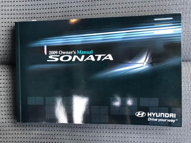 2009 sonata owners manual