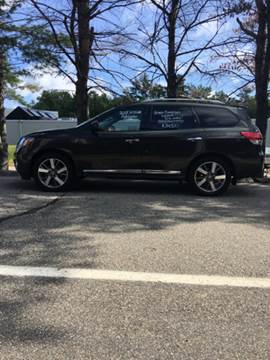 2015 Nissan Pathfinder for sale in North Hampton, NH