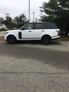 2015 Land Rover Range Rover for sale in Newcastle, NH