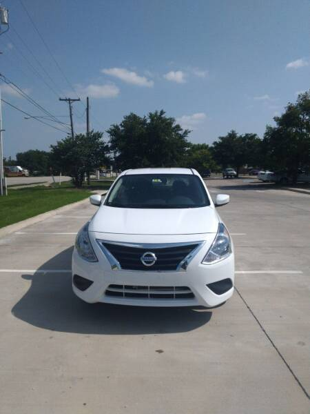 2019 Nissan Versa S 4dr Sedan - Mckinney TX