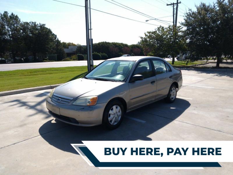 2001 Honda Civic LX 4dr Sedan - Mckinney TX