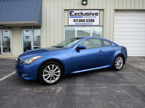 G37 Coupe For Sale >> Used Infiniti G37 Coupe For Sale In Springfield Mo Carsforsale Com