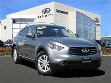 2013 Infiniti FX37 for sale in Roseville, CA