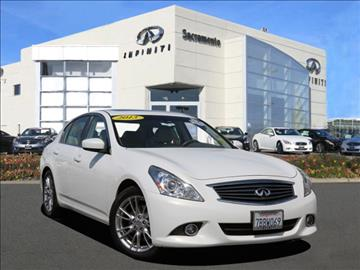 2013 Infiniti G37 Sedan for sale in Roseville, CA