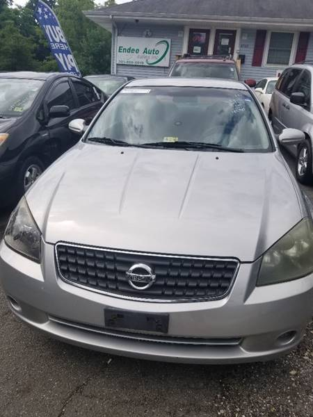 2005 Nissan Altima 25 S 4dr Sedan In Capitol Heights Md Endee