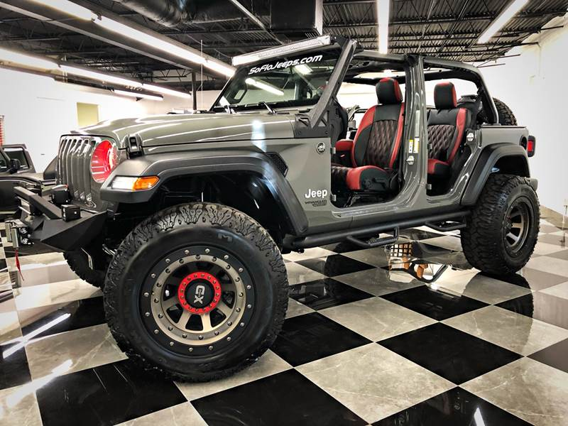 Grey Jeep Wrangler >> 2019 Jeep Wrangler Unlimited Brand New Custom Lifted Sting