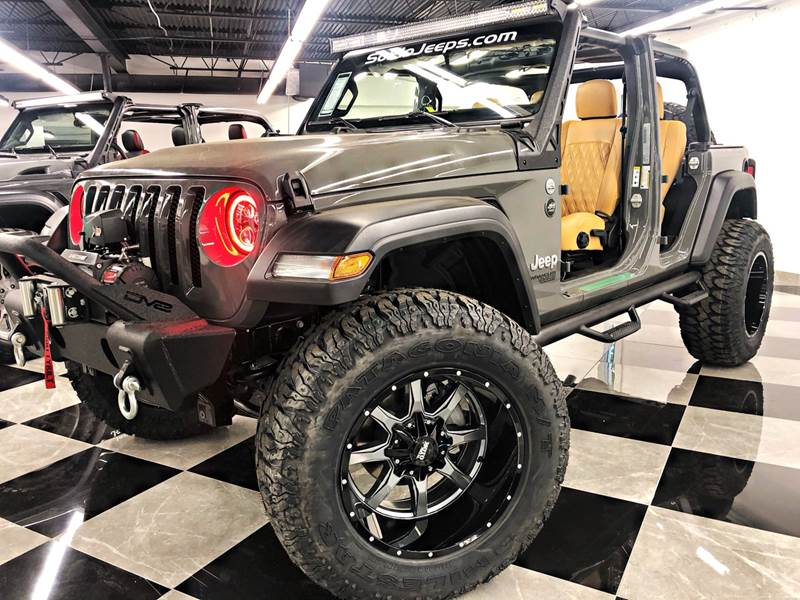 2019 Jeep Wrangler Unlimited Custom Lifted Sting Grey Tech