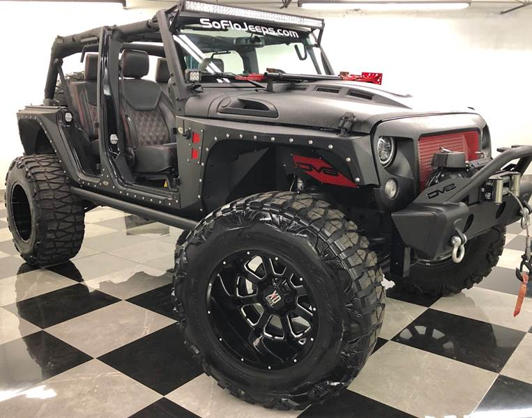 2015 Jeep Wrangler Unlimited for sale at South Florida Jeeps in Fort Lauderdale FL