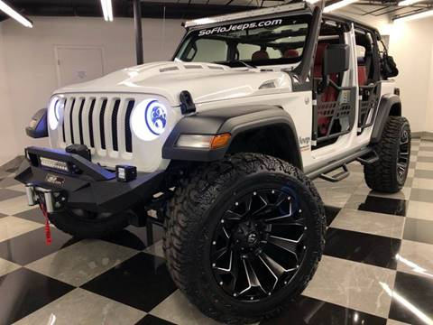 2018 Jeep Wrangler Unlimited for sale in Fort Lauderdale, FL