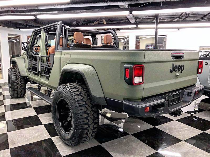 2020 Jeep Gladiator Abrams Edition kevlar Gladiator ...