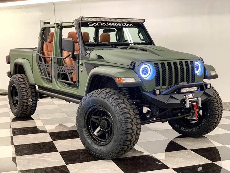 2020 Jeep Gladiator CUSTOM LIFTED KEVLAR JEEP GLAIATOR In ...