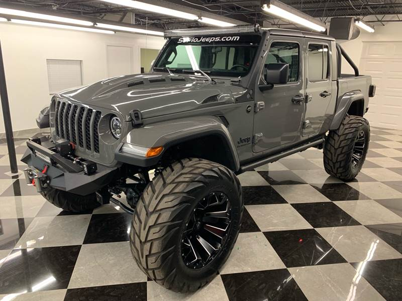 2020 Jeep Gladiator Custom Lifted Jeep Gladiator In Fort ...