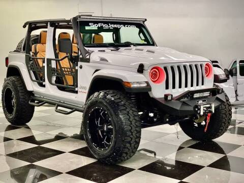 2019 Jeep Wrangler Unlimited for sale at South Florida Jeeps in Fort Lauderdale FL