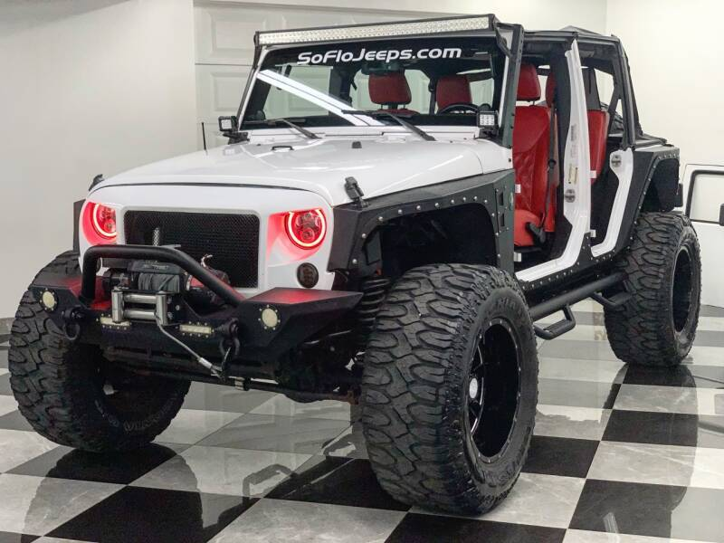2013 Jeep Wrangler Unlimited for sale at South Florida Jeeps in Fort Lauderdale FL