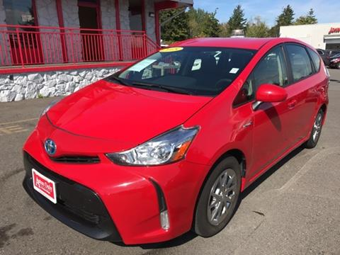 2015 Toyota Prius v for sale in Lynnwood, WA