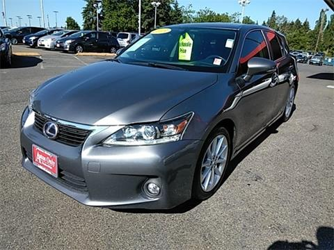 2013 Lexus CT 200h For Sale In Lynnwood, WA