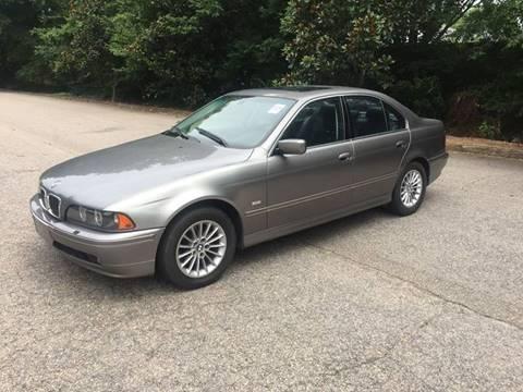 2003 BMW 5 Series