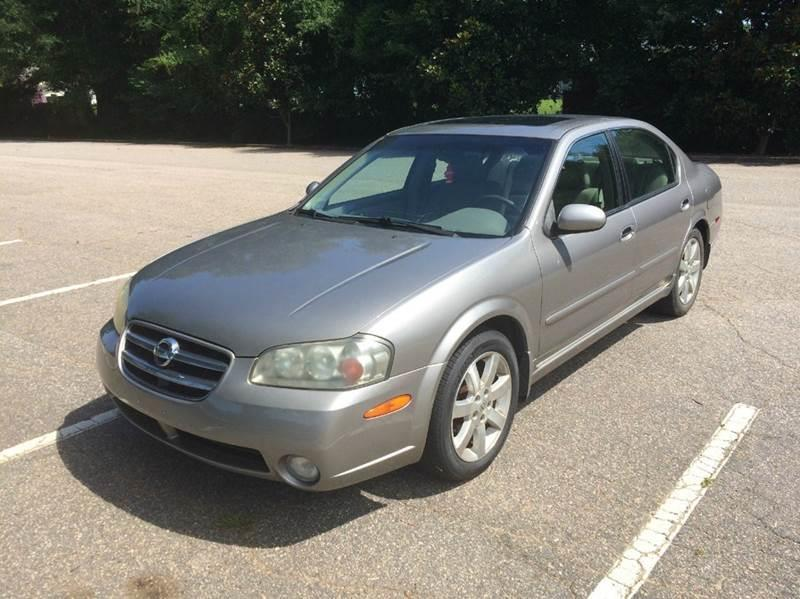2002 Nissan Maxima For Sale At Drive Away Today In Raleigh NC