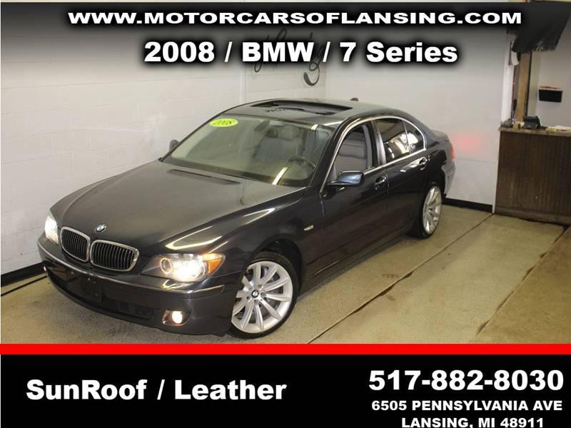 2008 BMW 7 SERIES 750I 4DR SEDAN midnight front bumper color - body-color grille color - chrome