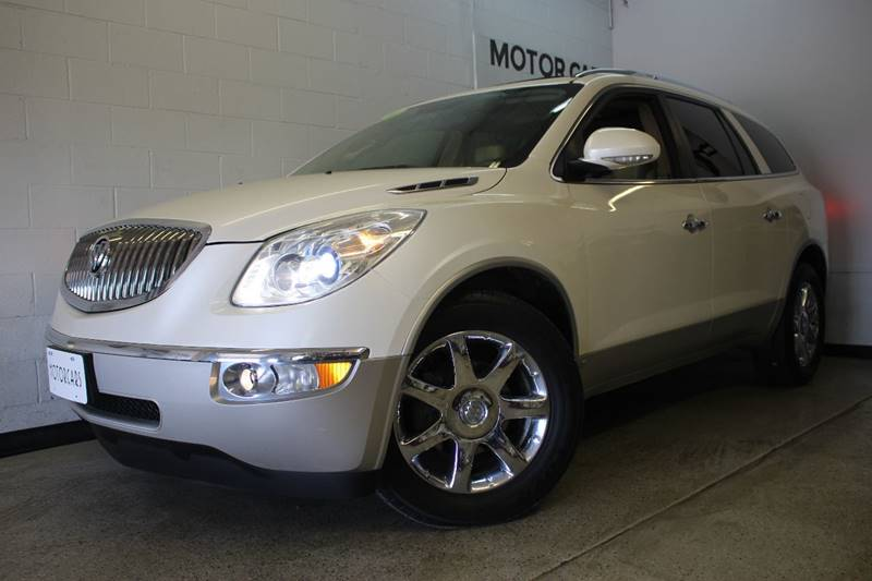 2010 BUICK ENCLAVE CXL AWD 4DR SUV W2XL white this car is a must see dvd entertainment system w