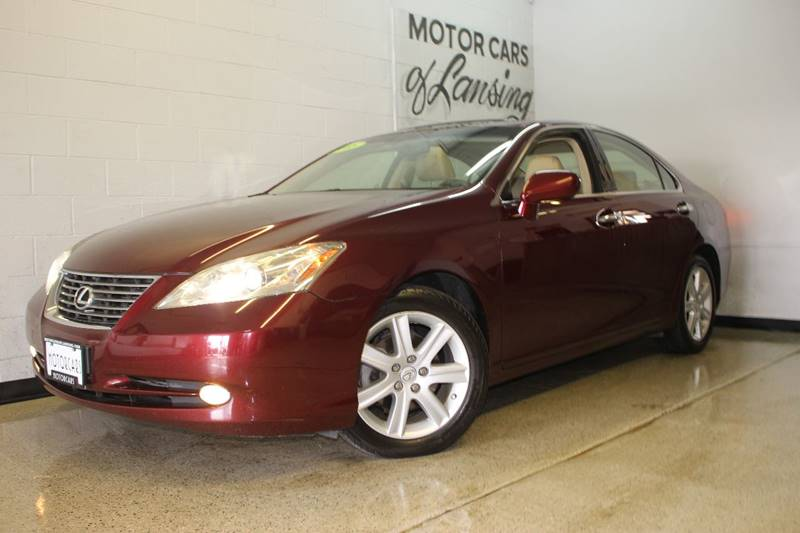 2008 LEXUS ES 350 BASE 4DR SEDAN burgundy act fast this car wont be on our lot for long  extre