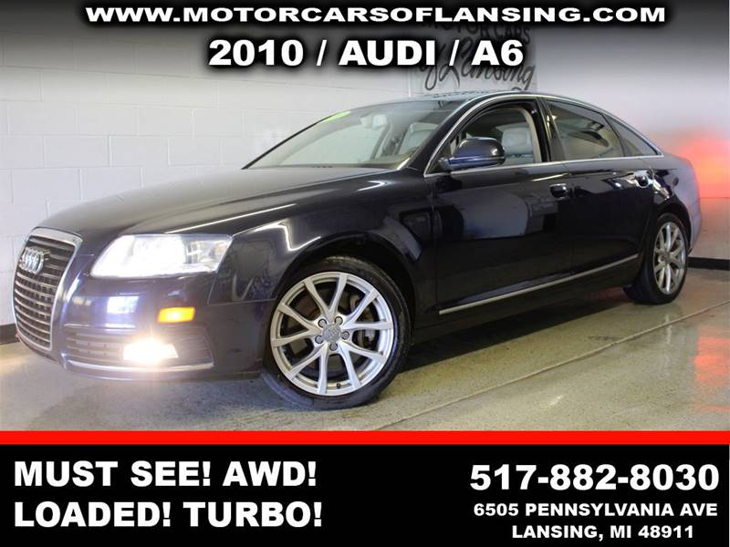 2010 AUDI A6 30T QUATTRO PREMIUM PLUS AWD 4D blue this a6 is a must see extremely clean inside