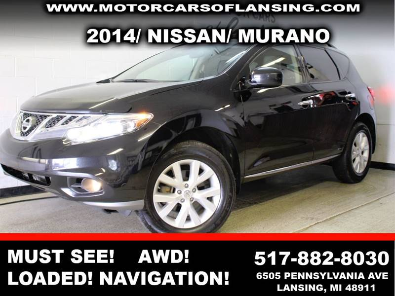 2014 NISSAN MURANO SL AWD 4DR SUV black this murano is a must see well maintained immaculate in