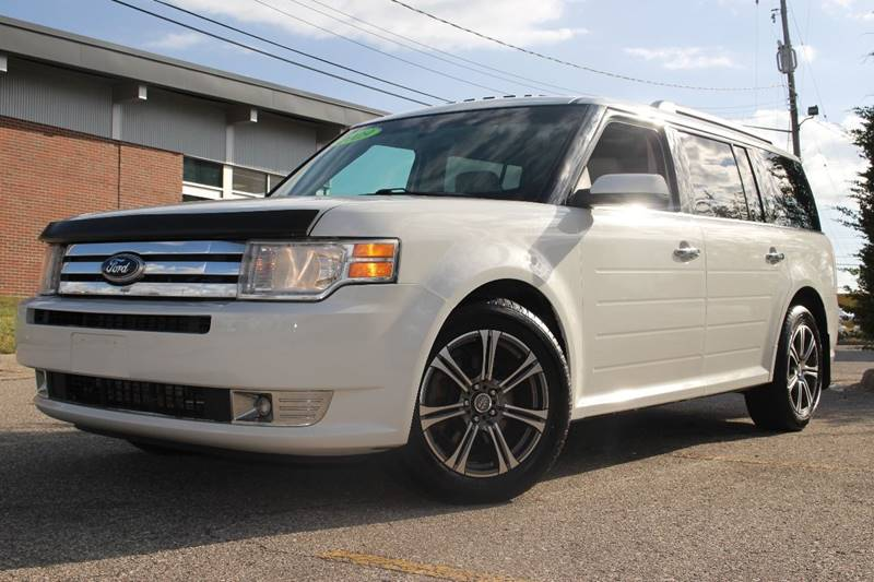 2009 FORD FLEX SEL AWD CROSSOVER 4DR white door handle color - chrome exhaust tip color - stainl