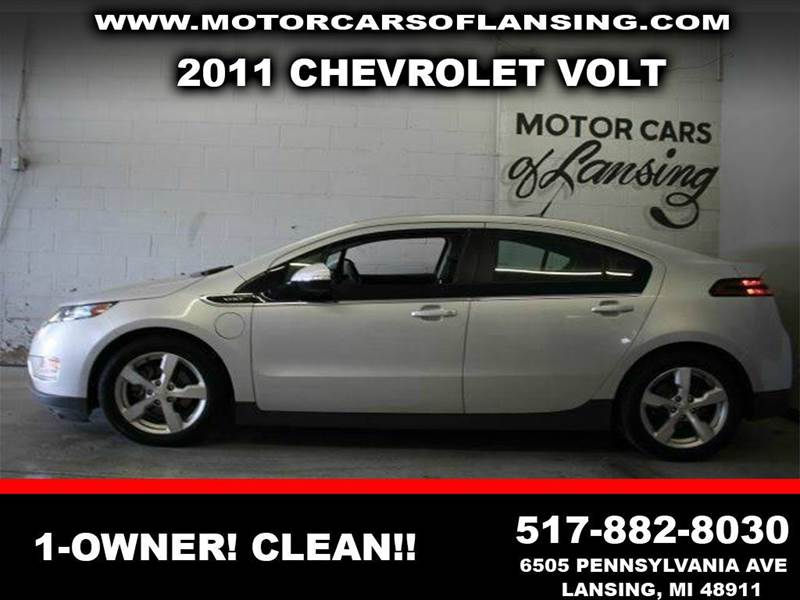2011 CHEVROLET VOLT BASE 4DR HATCHBACK silver ice metallic 110 point inspection and free 3 month w