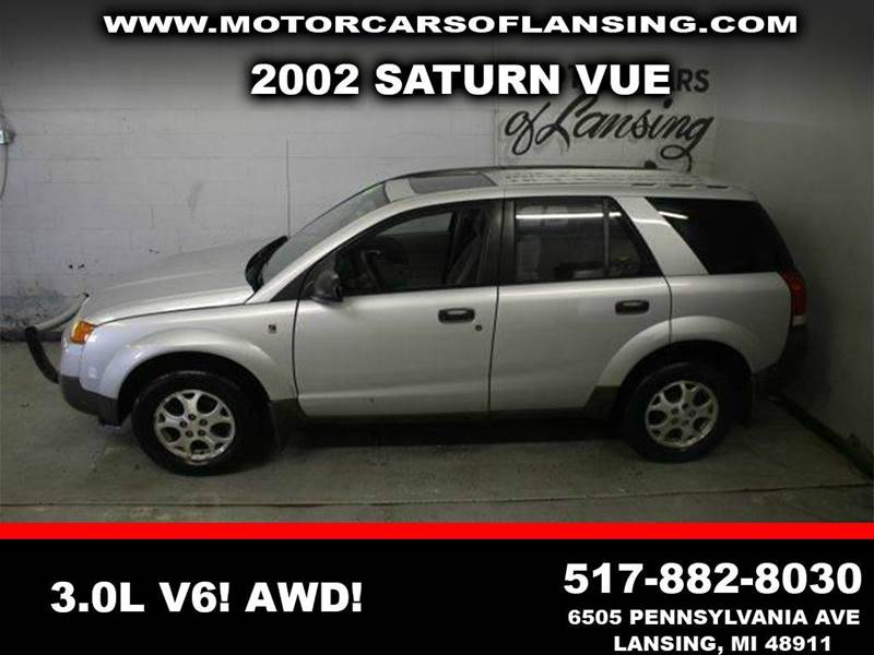 2002 SATURN VUE BASE AWD 4DR SUV V6 silver awd leather sunroof clean low miles  3 month 4