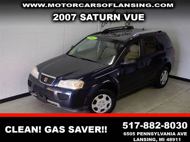 2007 SATURN VUE BASE 4DR SUV 22L I4 4A blue 2-stage unlocking - remote air filtration airbag