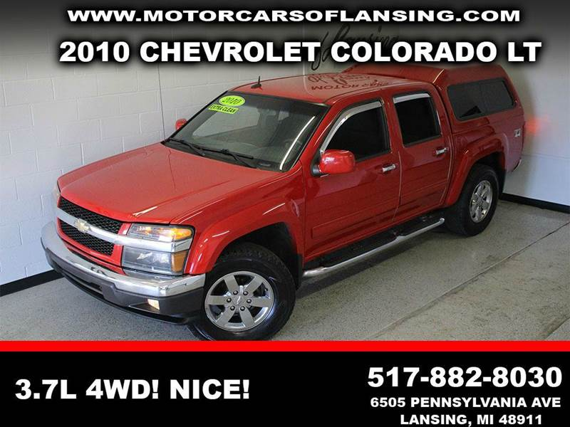 2010 CHEVROLET COLORADO LT 4X4 4DR CREW CAB W2LT red z71clean dont let the miles scare ya  3